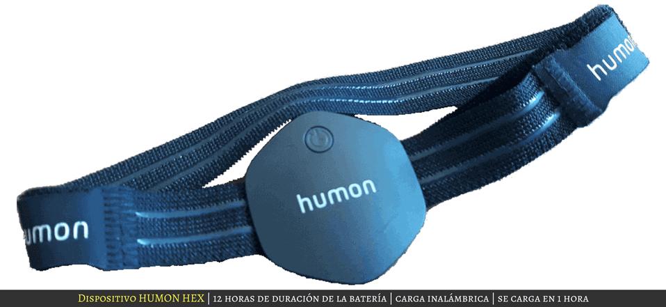 Imagen del dispositivo Humon Hex
