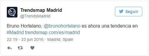 Tweet Trends Madrid