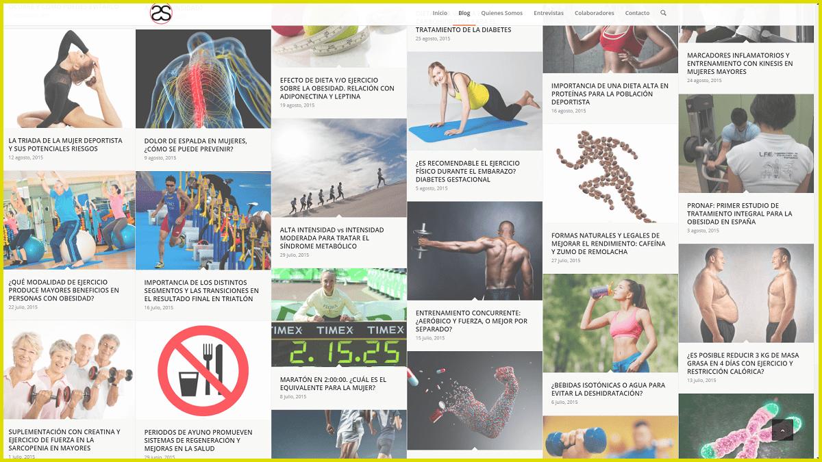 blog de Fisiología, Salud y Actividad Física FISSAC